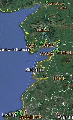 Brim Fell contacts map